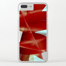 Abstract Shape. Minimalism. #2 Clear iPhone Case