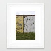 tetris Framed Art Prints featuring tetris by Jan Luzar