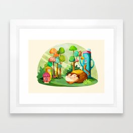Naptime Framed Art Print