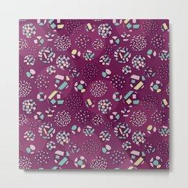 Japanese pattern Metal Print