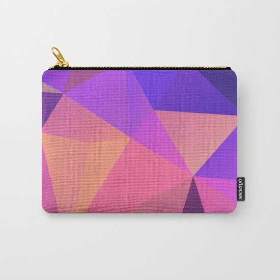 Geometric XX Carry-All Pouch