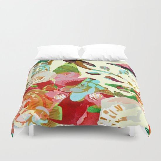 clown floral Duvet Cover