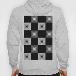 Black And White Illusion Pattern Hoody