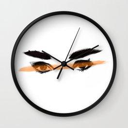 Audrey's eyes 2 Wall Clock