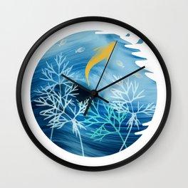 Sea Planet Wall Clock