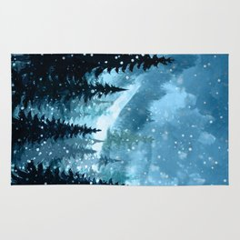 Winter Night Rug