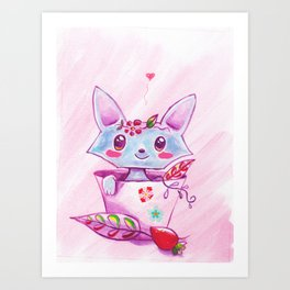 Sweet Fox Art Print