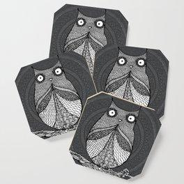 Doodle Owl Coaster