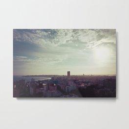 La Habana Skyline Metal Print