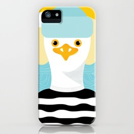 Jason Seagull iPhone Case