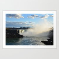 Niagara Waterfall Art Print