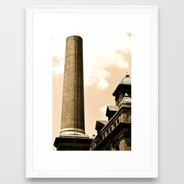 Smokestack Framed Art Print