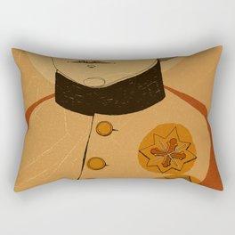 An Officer and a Lady Rectangular Pillow