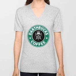 Darthbucks Coffee Unisex V-Neck