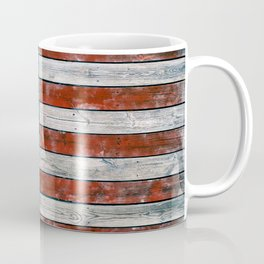 Vintage American Flag Coffee Mug
