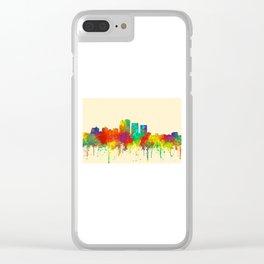 Louisville, Kentucky Skyline - SG Clear iPhone Case