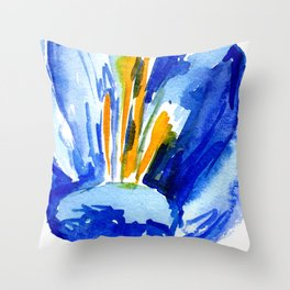 flower IX Throw Pillow