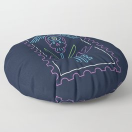 The vision Floor Pillow