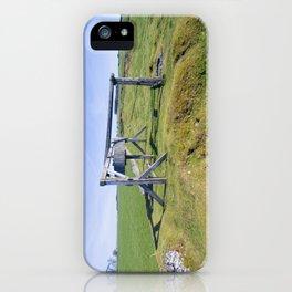 Magpie Mine horse gin iPhone Case