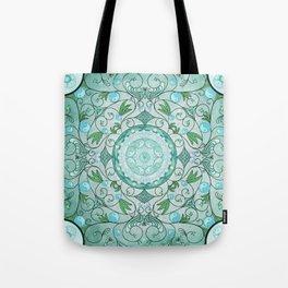 Balance of Nature Healing Mandala Tote Bag