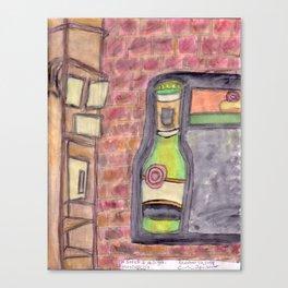 Maxfield's wall Canvas Print