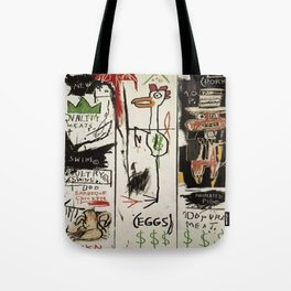 Basquiat Bird Tote Bag