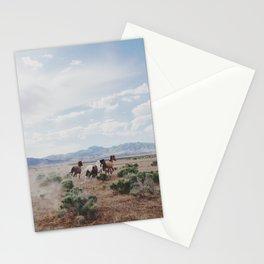 Running Horses Stationery Cards