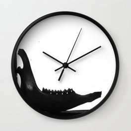 Jaw Wall Clock