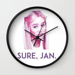 Sure, Jan. Wall Clock