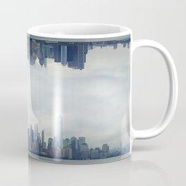 surreal view of Manhattan Coffee Mug