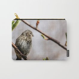 Common Red Poll Carry-All Pouch