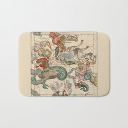 Constellations Andromeda, Pegasus, Cetus and Aries Bath Mat