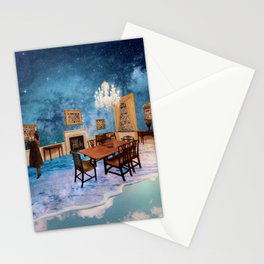 Universe room Stationery Cards