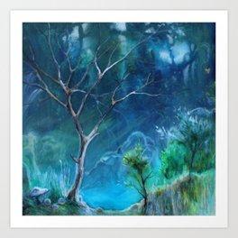 Hidden Creek Art Print