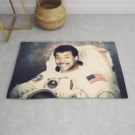 Neil deGrasse Tyson - Astronaut in Space Rug