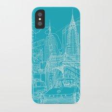 New York! Blueprint Slim Case iPhone X