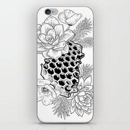 Succulents & Honeycomb iPhone Skin