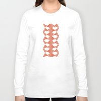concrete Long Sleeve T-shirts featuring Concrete Vertebrae by Peter Cassidy