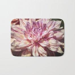 Marbled Dahlia, No. 1 Bath Mat