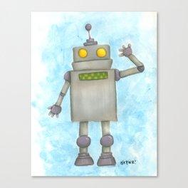 Roboto Canvas Print