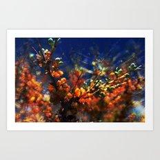 infinite fruits Art Print