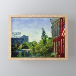 Domino Sugars from Federal Hill, Baltimore, Maryland  Framed Mini Art Print