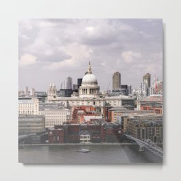 London St Paul | Travel Photography Metal Print