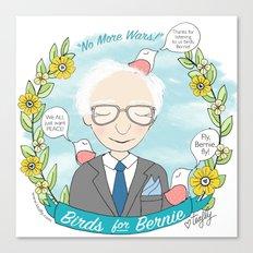 Put A Bernie On It Canvas Print