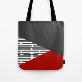 Simple patchwork Tote Bag