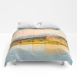 Eilean Donan Castle Scotland Comforters
