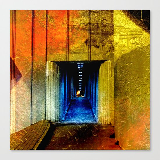 I Hope the End of This Tunnel Is for Me Canvas Print