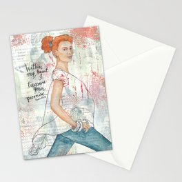 Within My Heart Stationery Cards