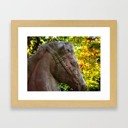 Guardian of the Gate Framed Art Print