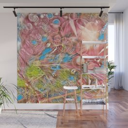 The Joy of Pink Wall Mural